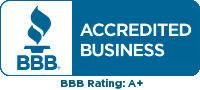 Better Business Bureau Accredited - +A Rated
